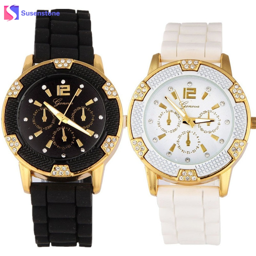 1 Pair Couple Watch Luxury Band Jelly Silicone Watch Men Women Analot Quart Watch Wristwatch 2017 montre femme relogio masculino