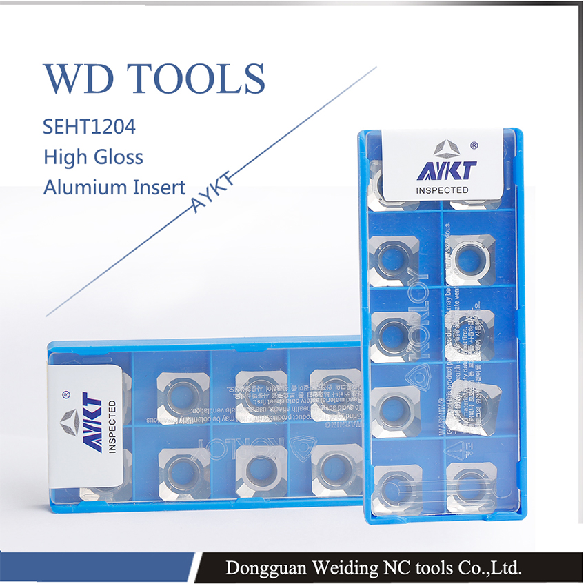 free shipping 20pcs SEHT1204AFFN X83 H01 Aluminum cutter blade Insert Cutting Tool KM face mill