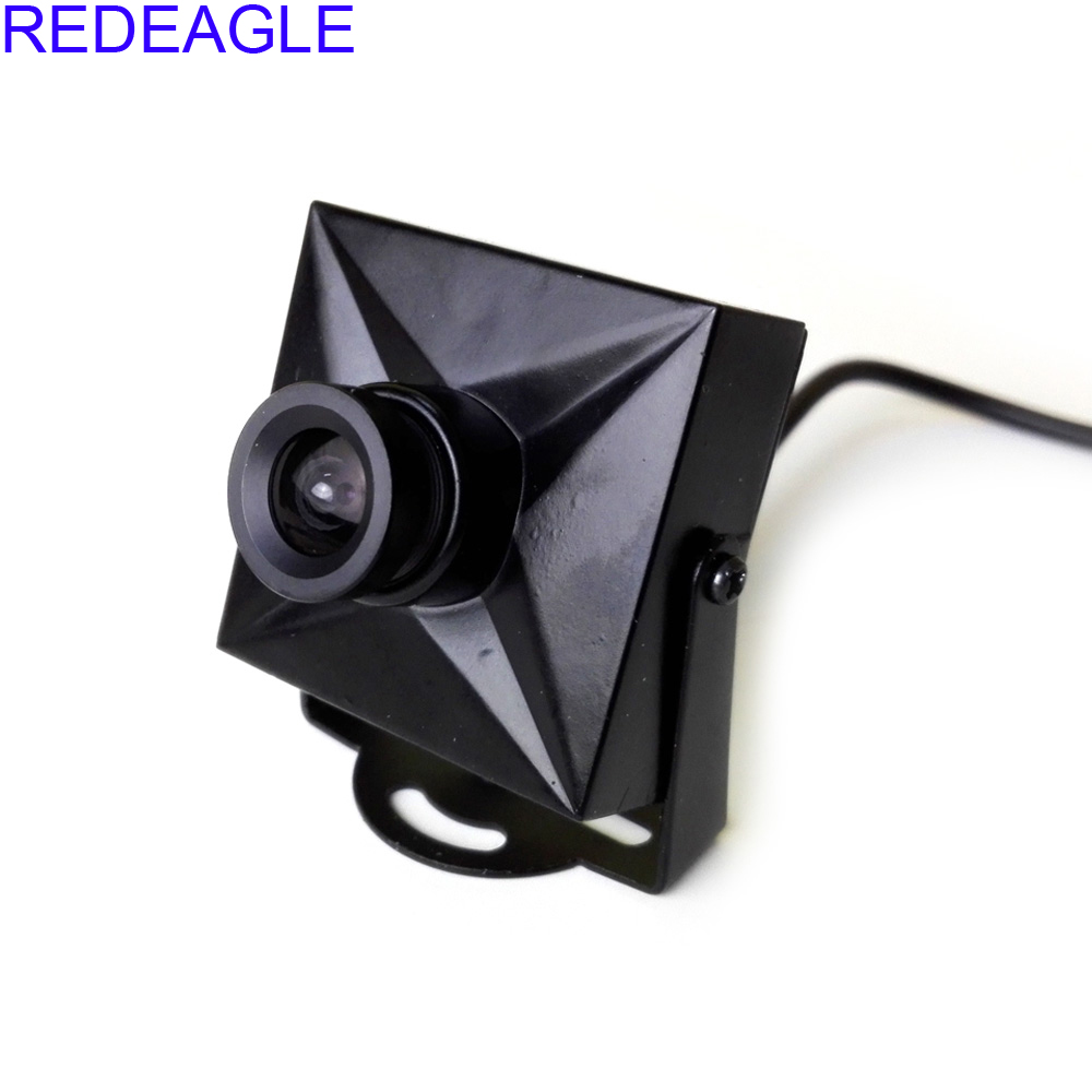 REDEAGLE Mini 700TVL CMOS Wired Micro CCTV Kamera Keamanan Digital 3.6MM 6MM Lens Metal Case