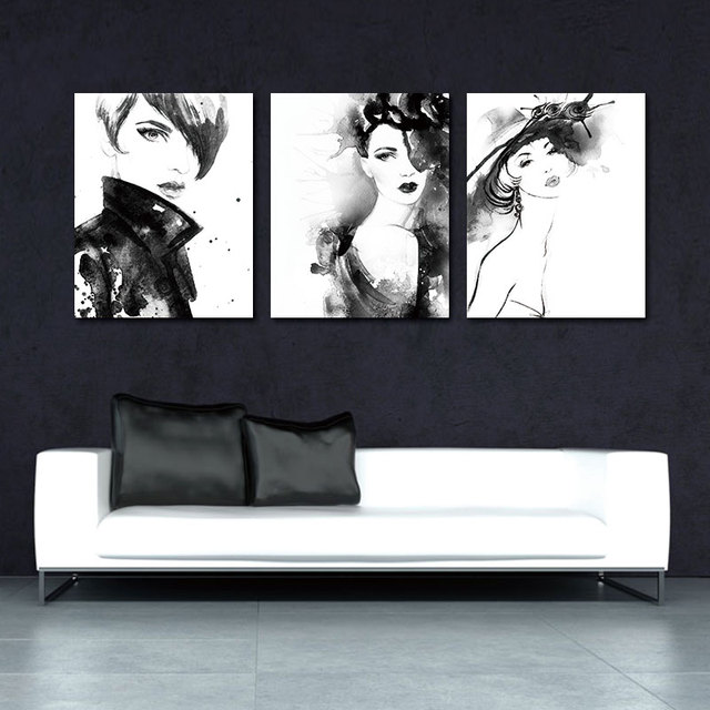 Canvas Cadre Decoratif Posters And Prints Wall Art Canvas Painting Nordic  Decoration Cuadros Wall Pictures For Living Room