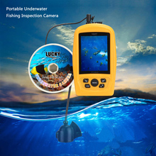 LUCKY 20M Underwater Fishing Camera Video Recorder System CMD Sensor 3.5IN TFT RGB Monitor HD Fish Finder Pesca