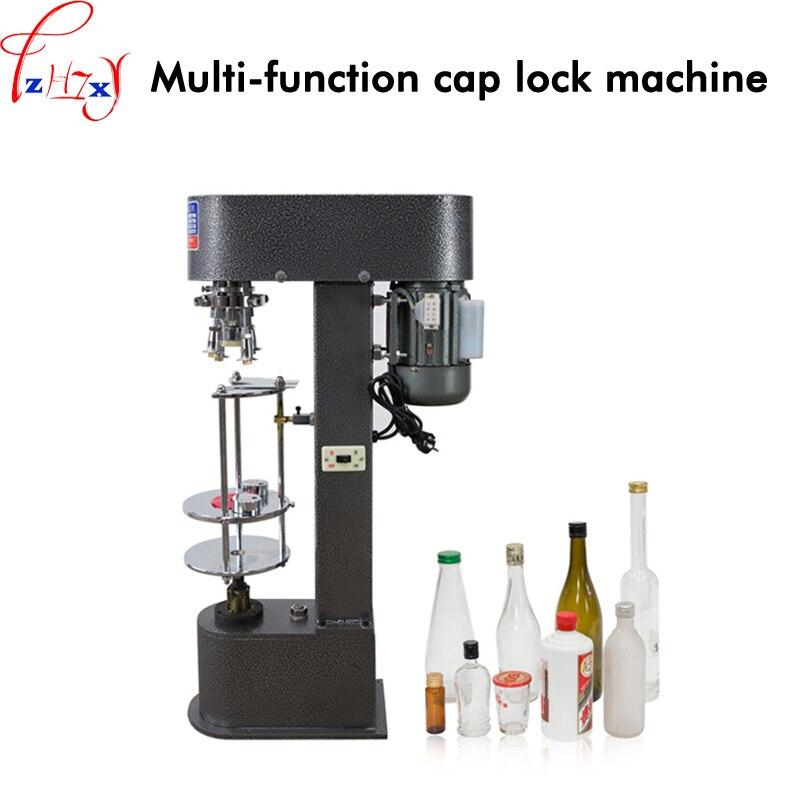 1 pc SK-40A Multi-fonction lock bottle cap machine 370 w seule tête automatique capsuleuse en métal couvercle en aluminium serrure bouche 220 v