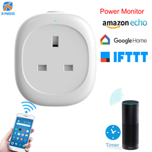 цены на Smart Socket 13A UK Wifi Plug Adapter Power Monitor Mini Wifi Timing Outlet For Voice Remote Control Tuya Smart Home Automation  в интернет-магазинах