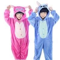 Centuryestar Children Kids Animal Pijamas Onesie Blue Pink Stitch Pajamas Costume Pyjamas Boys Girls Sleepwear For