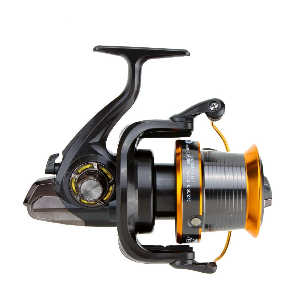 12 + 1BB 13 ball bearing left / right interchangeable LJ9000 Super large metal rotating spool fishing wheel high speed 4.11 1 3bb ball bearings left right interchangeable collapsible handle fishing spinning reel se200 5 2 1 with high tensile gear red