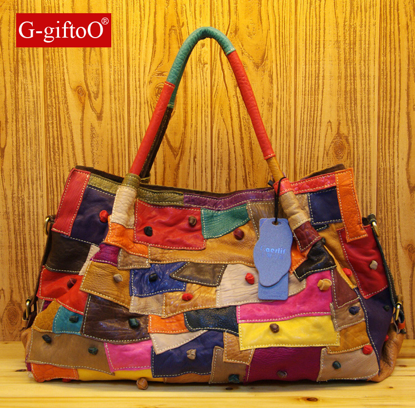 2015 New Fashion Women Messenger Bags Genuine leather Bag Women Luxury Handbags Multicolor Splicing Real leather Bags клатч 2015 women handbags 2015 110 women leather bags 2015
