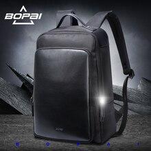 Bopai бренд стильной Mochila 2017 сумка для ноутбука Оксфорд Ноутбук Рюкзак Мужчины Женщины Водонепроницаемый ноутбук рюкзак студентов колледжа сумка