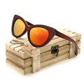 BOBO BIRD 2016 Wood Sunglass Mens Sports Oculos de sol Sun glasses Square Women Men Top brand Designer Glasses  mirror colorful