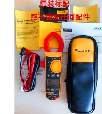 Fluke F319 True-rms AC DC Clamp Meter with CASE Inrush Current Frequency meter tester