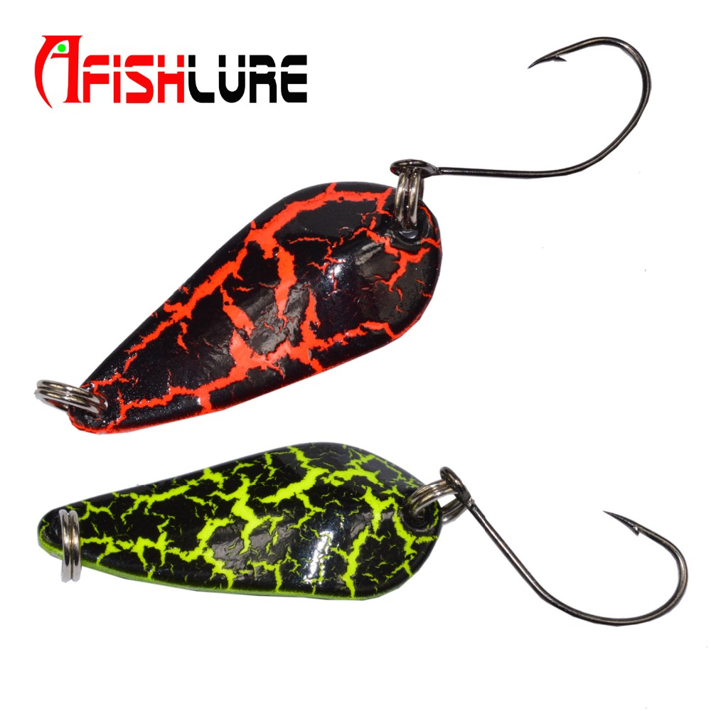 2pcs/lot 3g Copper Spoon Fishing Lure Pesca Peche Tackle Wobblers Hard Lures Crankbait Isca Artificial Articulos De Vissen Bait 1pcs 12cm 14g big wobbler fishing lures sea trolling minnow artificial bait carp peche crankbait pesca jerkbait ye 37