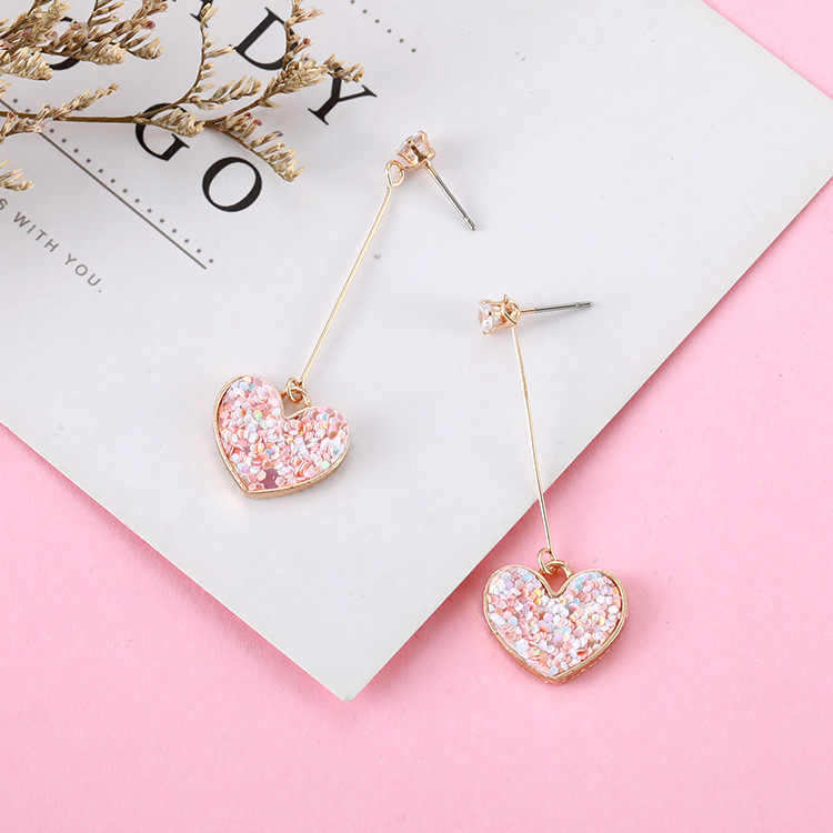 Vintage 2017 Women's Fashion Statement Earring Heart Earrings for Wedding Party Christmas Gift Wholesale