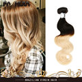 Hair Brazilian Body Wave Ombre Human Hair Weave 1b 613 Virgin Brazilian Hair Body Wave Blonde Weave Wet And Wavy Hair soft
