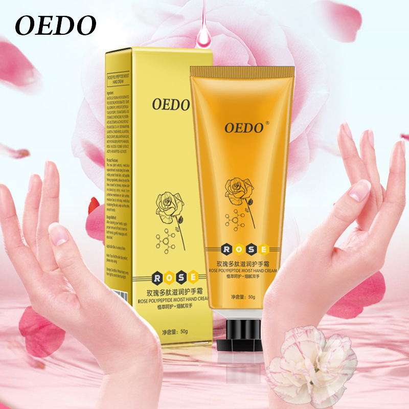 Super Rose Polypeptide Moist Hand Cream Rose Extract Repair Nourishing Hand Care Anti Chapping Anti Aging Moisturizing Skin Care rosehip rose moisturizing cream 125ml