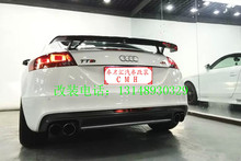 Fit for AUDI TTRS TT 07-12 modified carbon fiber rear wing rear spoiler wing(China)