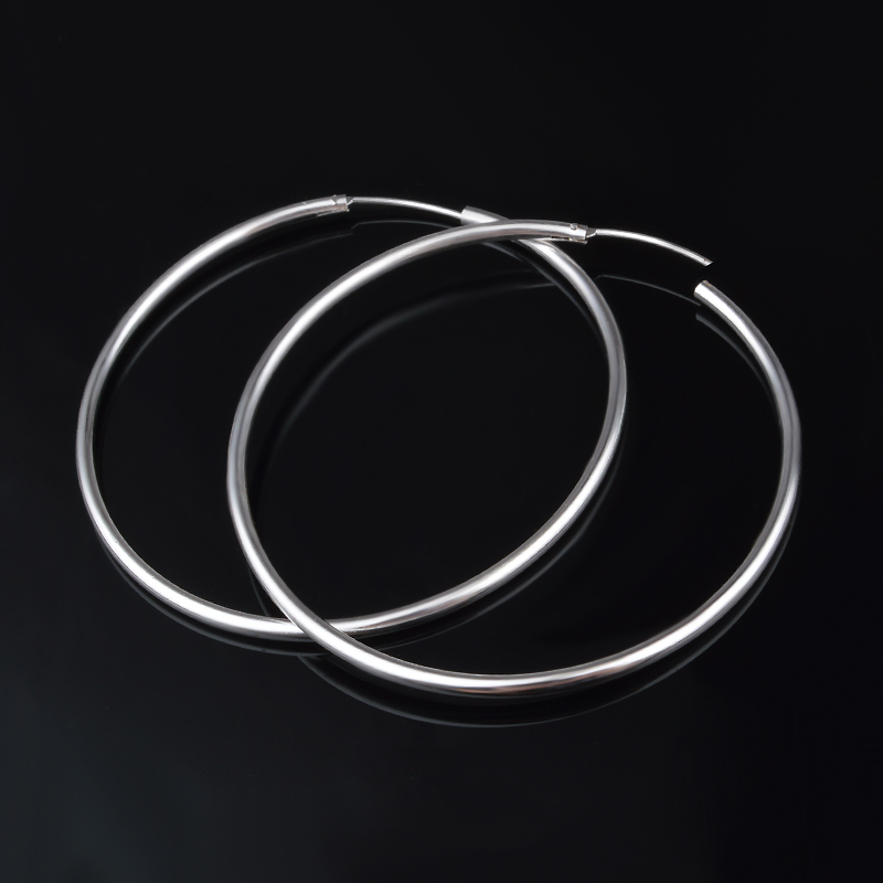 925 Sterling Silver Womens Light Earrings Personalized Charm Earrings Unique Design Jewelery