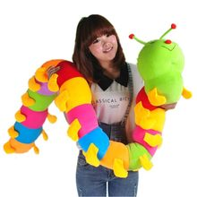 1pcs 50-230cm INCHworm Caterpillar Doll Worm Stuffed Plush Toy Peluche Bug Doll Hold Pillow Soft Cute Lovely Gift Good Quality(China)