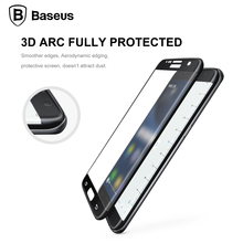 Baseus S7 Edge Tempered Glass 9H Hardness 3D Full Coverage Screen Protector Protective Film For Samsung Galaxy S7 Edge