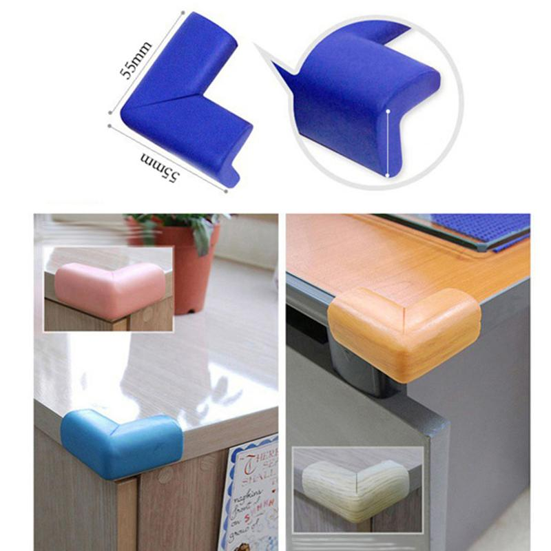4pcs Soft Baby Safety Corner Protector Baby Kids Security Table Desk Anti-collision Corner Guard Children Safe Edge Guards Hot