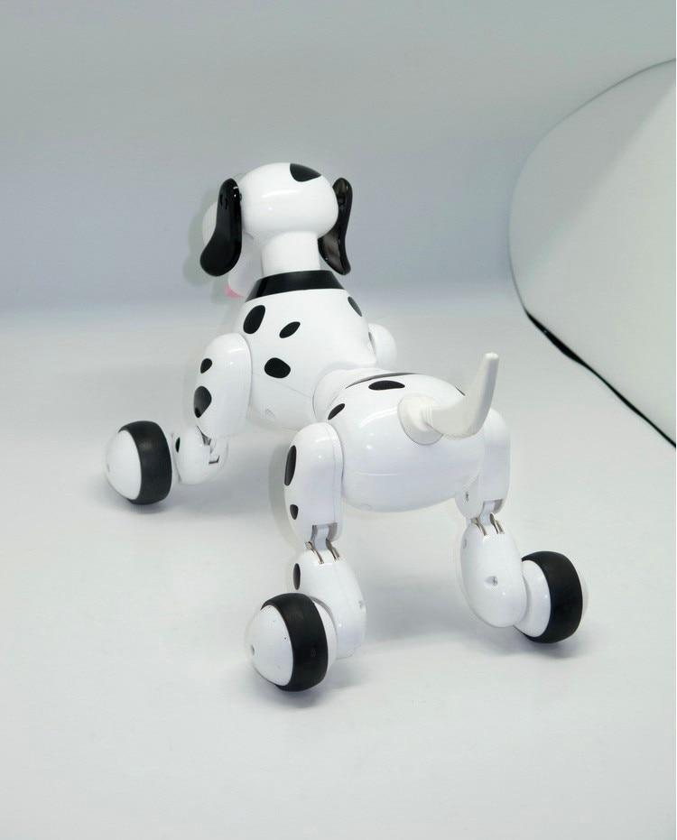 Новое обновление умный робот собака 2,4G беспроводной пульт дистанционного управления электронный питомец детские развивающие игрушки Танцующий Робот собака Рождественский подарок