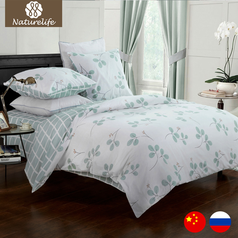 buy 2017 bed sheets cotton plaid bedding sets plaid de lit queen duvet cover. Black Bedroom Furniture Sets. Home Design Ideas
