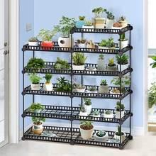 Европейский Балконный и комнатный держатель для цветочного горшка, садовая маленькая подставка для растений, железная Цветочная беседка, подставка для суккулентных растений, полка