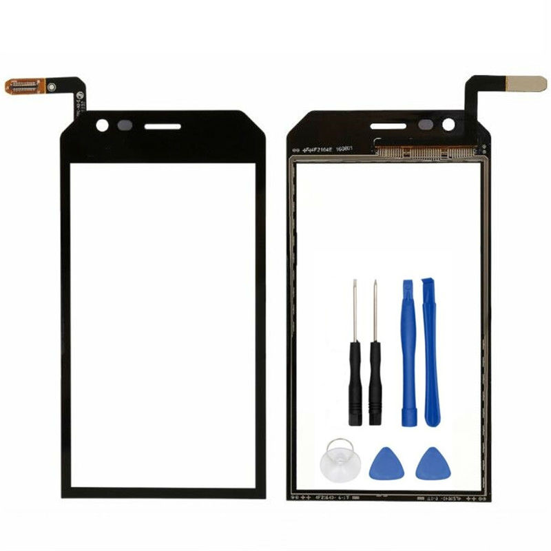 Black 4.5 inch Touch Screen Digitizer For Caterpillar CAT S30 digitizer touch screen display Free shipping + Order Tracking image