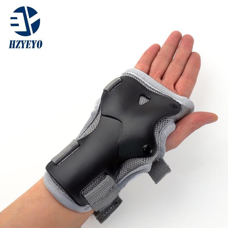 Prix pour Poignet Gardes Soutien Palm Tapis Protecteur Pour Roller Ski Snowboard Roller Vitesse Protection Hommes Femmes HZYEYO H008