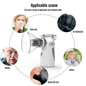 Image 5 - Yonker tıbbi yeni nebulizatör el astım Inhaler Atomizer çocuklar için sağlık usb mini taşınabilir nebulizatör