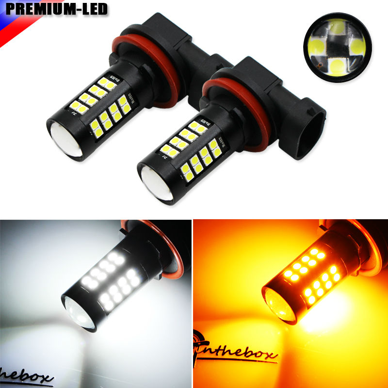 new arrival 1pair 3030 80w h8 h11 high power led car fog lights or10 (2) 12v High Power 3030 LED H8 H11 H9 H16 LED Bulbs For car Fog Lights or Daytime Running Lights,white Red Ice blue amber yellow