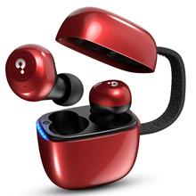 купить Bluetooth 5.0 True Wireless Earphones IPX5 Waterproof Sport Wireless Earbuds HiFi Stereo Bluetooth Earphones with Mic for phone дешево