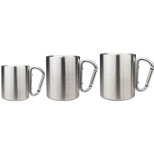 From Isolating Steel Hook Us5 In Children Handle Wall heat Outdoor Cup Resistance 250ml 300ml Travel Mug double Mugs Wcarabiner Stainless 9200ml eWED2IYH9