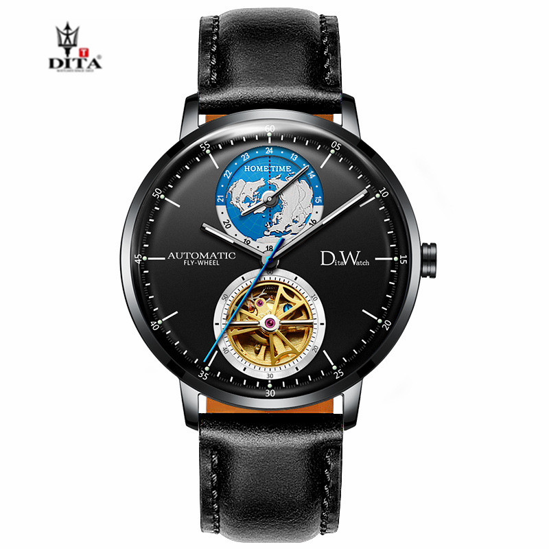 DITA Fashion Design Sport Business Waterproof Mechanical Watch Automatic watches For Men Top Brand Luxury Horloges Mannen Clock in Mechanical Watches from Watches