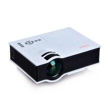 UNIC UC40 800 lumens LED Mini Projector Home Cinema Business HDMI AV SD 1080P + US/EU Plug Power Cable