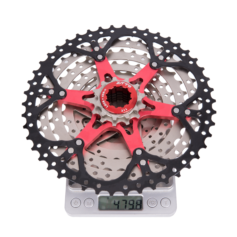 Image 5 - ZTTO 9 Speed 11 46T MTB Bicycle Cassette with Chainwheel Mountain Bike Wide Ratio Sprockets 9s k7 9speed Freewheel-in Bicycle Freewheel from Sports & Entertainment