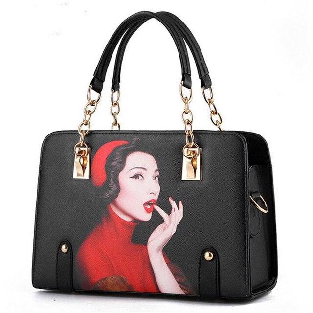 High Quality Chain Women Bag Women's Handbags Shoulder Hand Bag Ladies Leather Clutch Luxury Famous Brands bolsas feminina