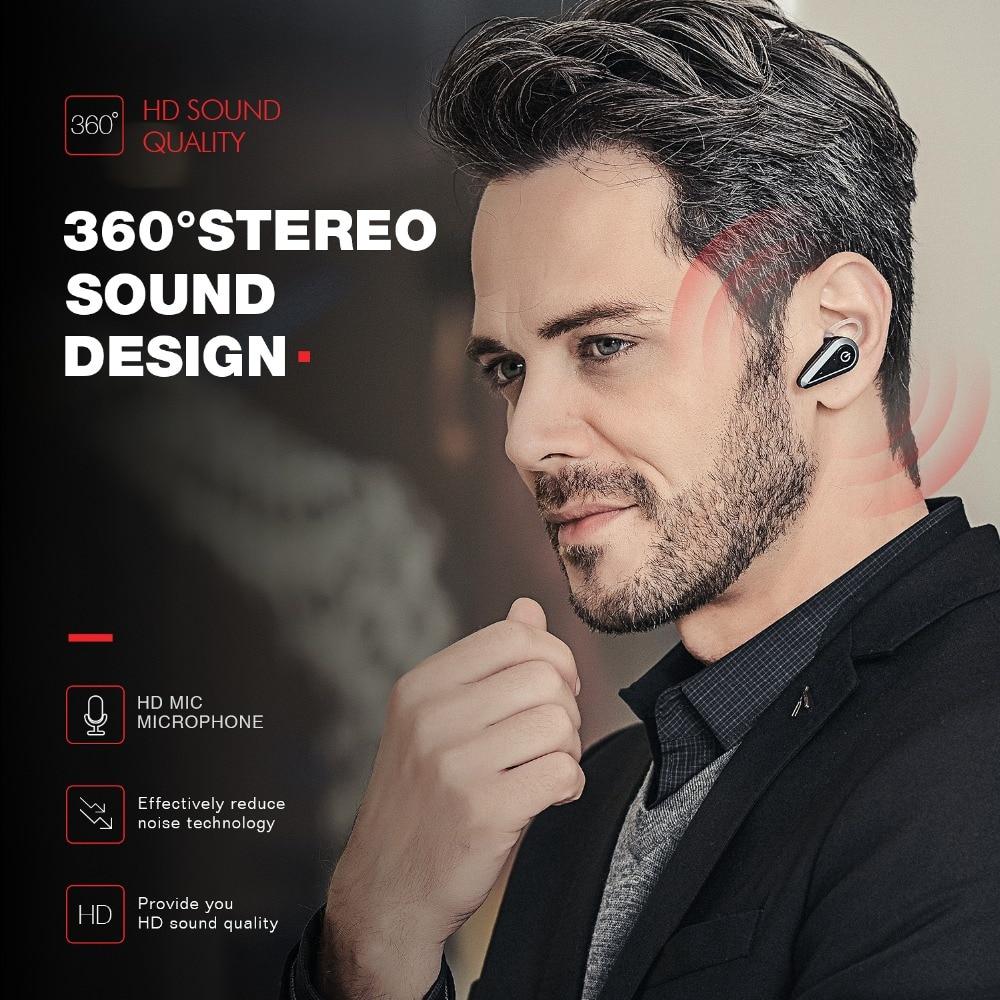 HAVIT Brezžične slušalke 4.1 Bluetooth 16-milimetrske mini ušesne - Prenosni avdio in video - Fotografija 2