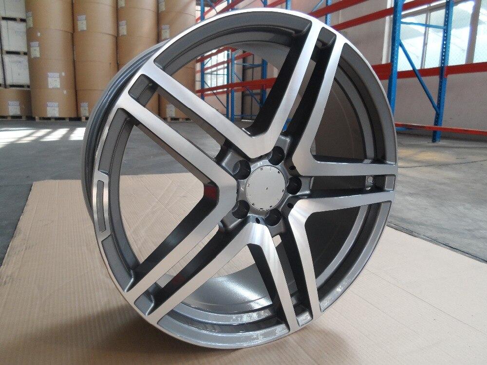 c9a909699cd 4 nuevo 18x8.5 Llantas ruedas y 35mm CB 66.6mm llantas de aleación Llantas  w815 se adapta Benz