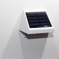 Green Power 0.6W Solor 4 Led Lamp Outdoor Remote Sensor Night Light  Working time 8-12hours Emergency Lighting P15