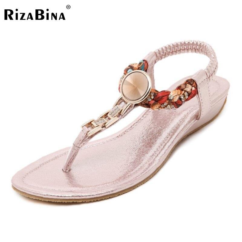 Kadın Ayakkabıları Sandalet Konfor Sandalet Kadınlar Yaz Klasik Rhinestone Moda Yaz Yüksek Kaliteli Düz Sandalet Boyutu 35-41 PA00546