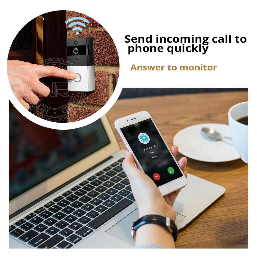 NR840 Wireless Wifi IP Doorbell Camera + Indoor Bell Video Door Phone Intercom