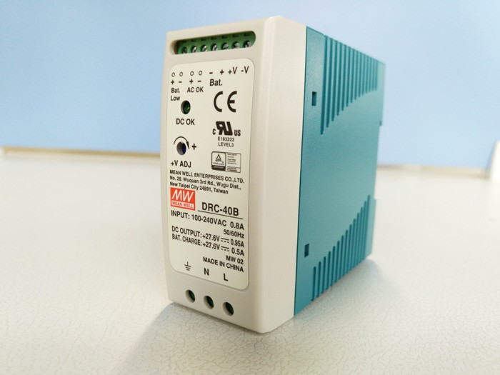 все цены на Original MEAN WELL 40W Single Output Din Rail Switching Power Supply With Battery Charger(UPS Function) DRC-40 онлайн