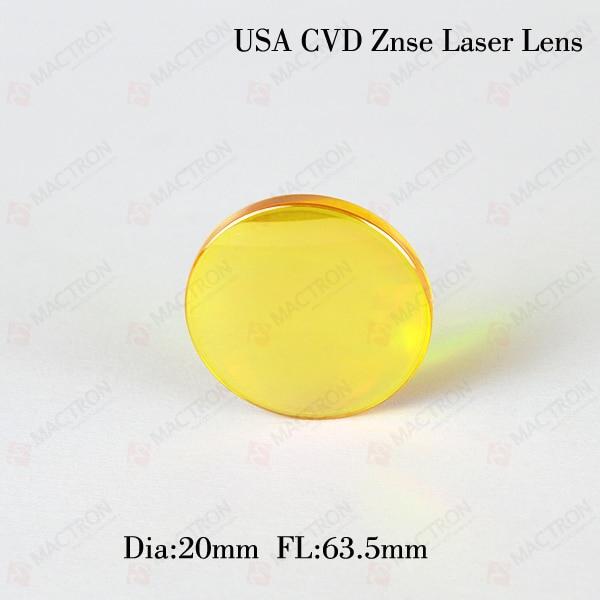 ФОТО USA Optical Laser Focusing Lens 20mm FL63.5mm