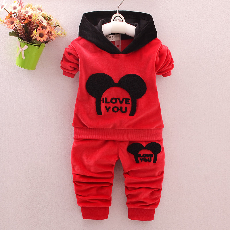 Newborn Baby Boys Clothes Set Cartoon Hooded Long Sleeved Tops+Pants Outfits Kids Bebes Clothing Childrens Jogging Suits Clothes fashion baby clothing suit camouflage newborn baby boys toddler hooded tops long pants outfits set clothes