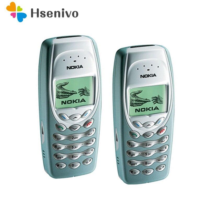 Nokia 3410 Mobile Cell Phone Original Unlocked Refurbished Cheap Phone Free shipping