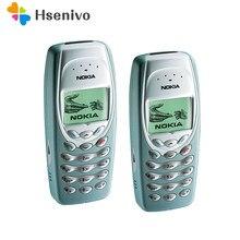 Nokia 3410 odnowiony-Nokia 3410 telefon komórkowy oryginalny odblokowany odnowiony tanie telefon darmowa wysyłka