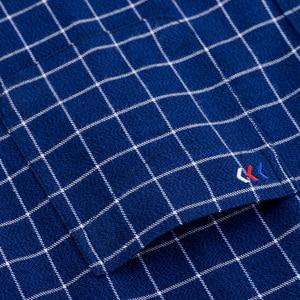 Image 5 - ผ้าฝ้าย 100% ผ้าลินินผู้ชายลายสก๊อตเสื้อ 2018 ฤดูใบไม้ผลิฤดูใบไม้ร่วงเสื้อลำลองแขนยาวคุณภาพสูงยี่ห้อ Man ขนาด 5XL