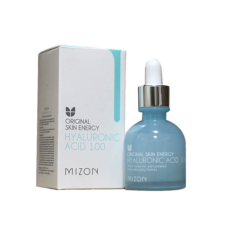 MIZON Hyaluronic Acid 100 - 30ml Luxury Facial Serum Skin Care moisturizing Anti Wrinkle Face Lifting Firming Korea Cosmetic mizon placenta 45 ampoule 30ml firming lifting serum facial essence sheep placenta reduce wrinkles face cream korean cosmetic