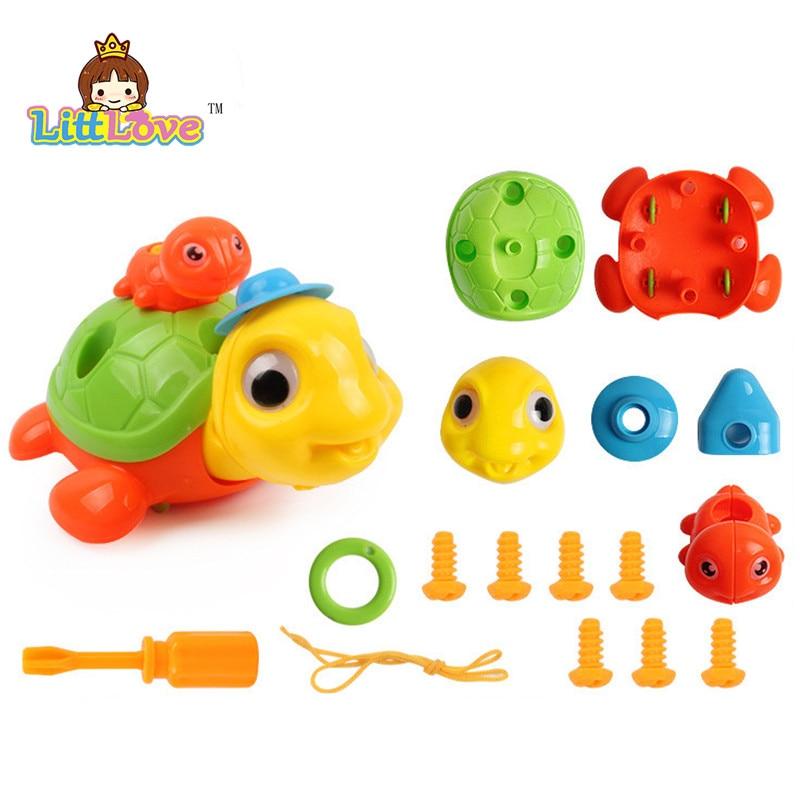 LittLove Dječje životinje Puzzle Obrazovne Igračke Djeca - Izgradnja igračke - Foto 5