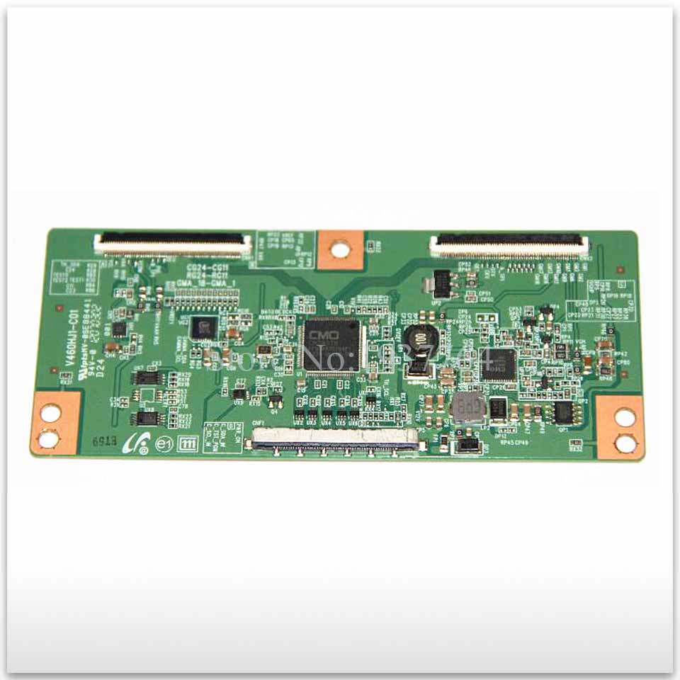 95% new good working for board LD460BGC-C1 screen V460HJ1-C01 UA46D5000PR T-con 46 inch logic board 95% new for samsung ua46d5000pr board bn41 01747a bn94 07069u ltj460hn01 h screen on sale