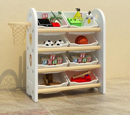 Los niños de plástico de almacenamiento de juguetes de acabado estantes  jardín bebé de dibujos animados de multi storey armarios de almacenamiento  en Cajas ... 266da28da4f8